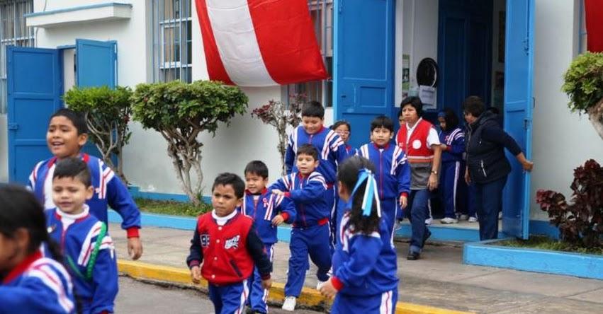 MINEDU: Más de 8 millones de escolares participaron en III Simulacro Nacional de Sismo y Tsunami - www.minedu.gob.pe