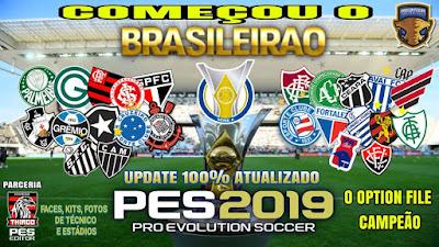 PES 2019 PS4 Option File Brasilerao Update 26-04-2019 by Thiago PESEditor