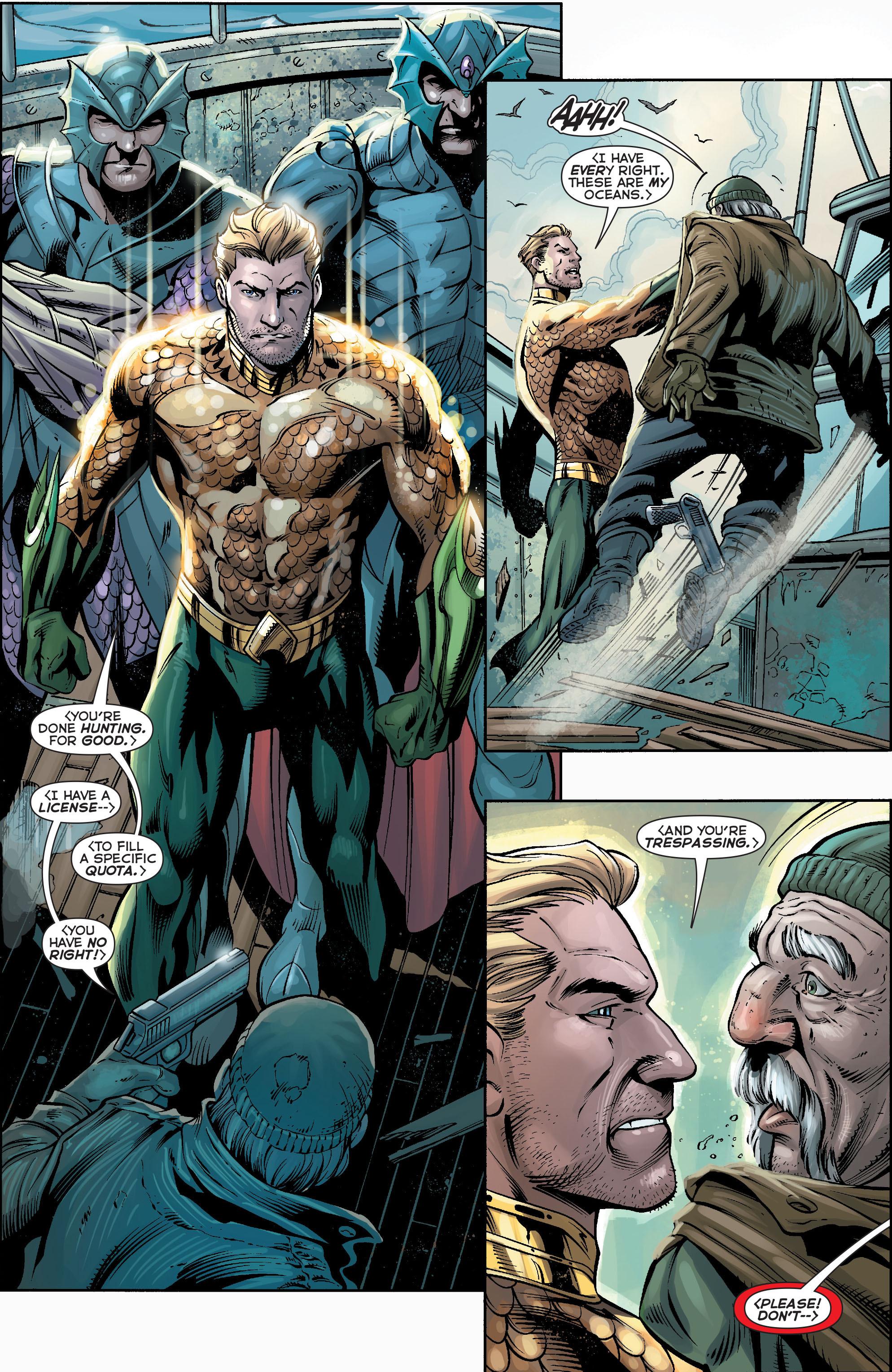 Read online Aquaman (2011) comic -  Issue #17 - 7