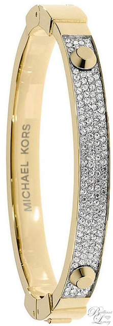Brilliant Luxury ♦ Michael Kors Bangle