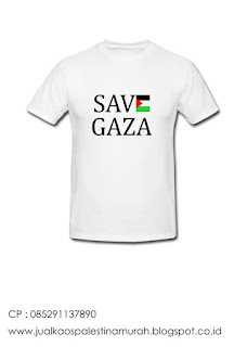 Jual Kaos Save Gaza