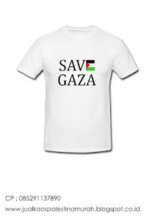 Jual Kaos Save Gaza