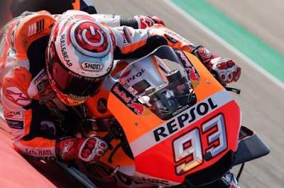 Marc Marquez Juara Motogp Aragon 2018