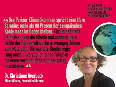 Demonstration zum Auftakt der Weltklimakonferenz am 4. November in Bonn
