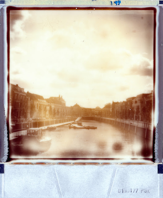 New harbour Breda, 1st Impossible Project B&W instant film