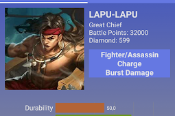 Build Item Dan Cara Menggunakan Lapu Lapu Ala Top 1 Global Mobile Legend