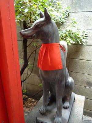 喜多埜稲荷神社狛犬