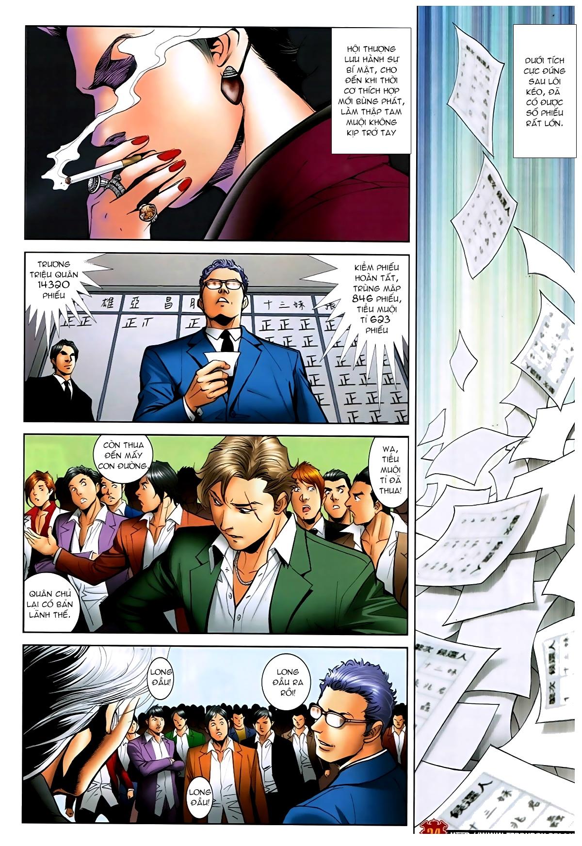 Người Trong Giang Hồ - Chapter 1593: Tọa quán Vượng Giác - Pic 23