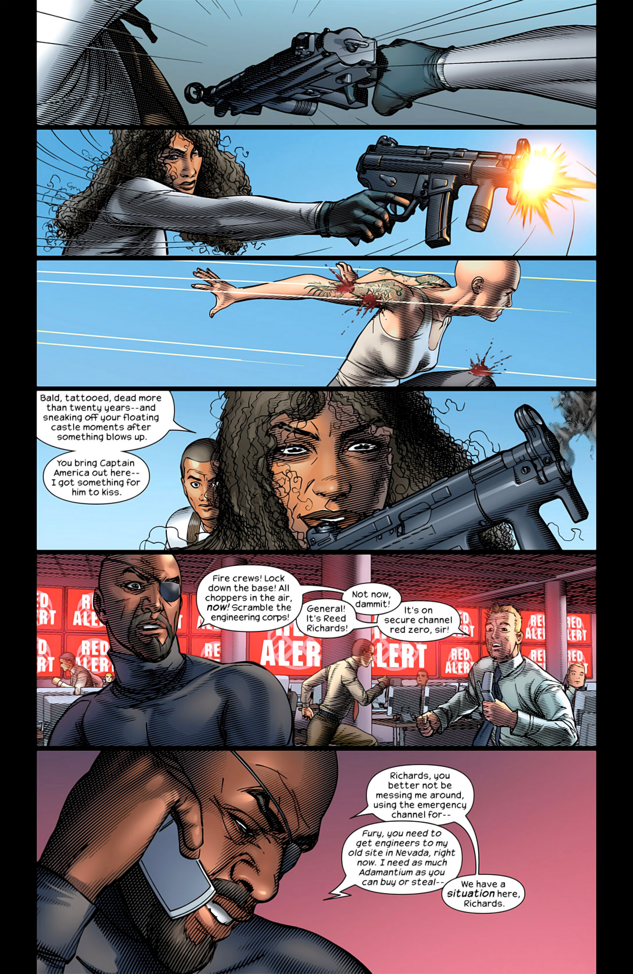 Read online Ultimate Extinction comic -  Issue #4 - 6