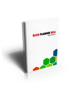 Free pdf Blog Planner 2016 - Agenda Ngeblog