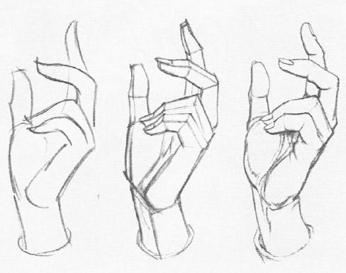 Gurney Journey: Three Steps in Blocking the Hand