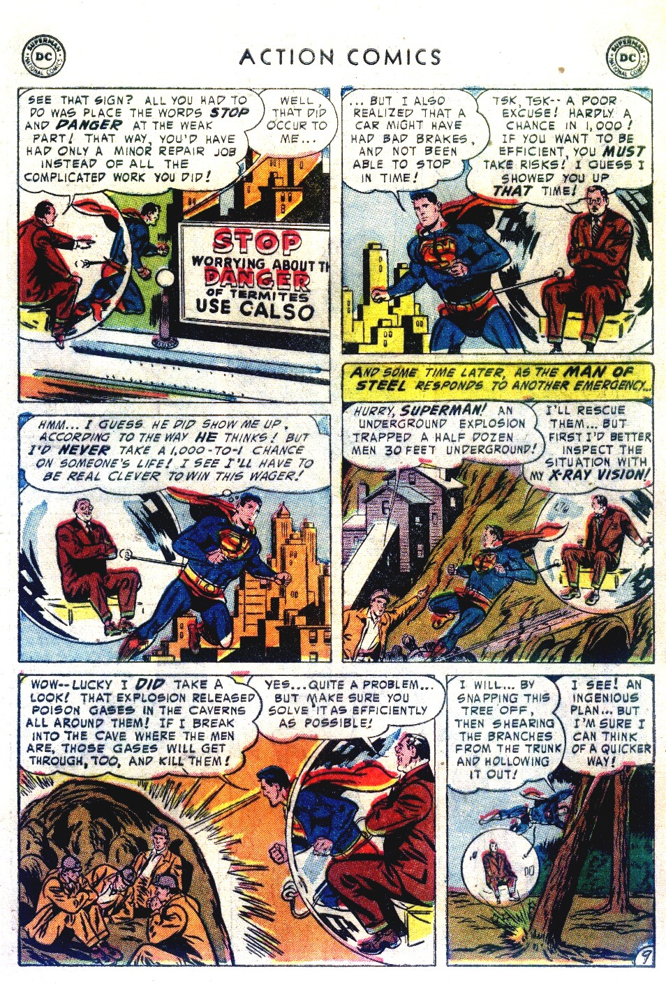 Read online Action Comics (1938) comic -  Issue #192 - 11