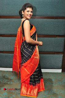 Model Sangeeta Kamath Pictures in Saree at Silk India Expo Curtain Raiser  0072.JPG