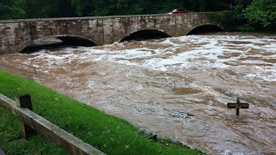 Flooding at Bennett Spring