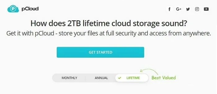 pCloud Cloud Storage Services