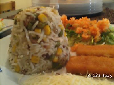 Υγιεινό ρύζι με λαχανικά!