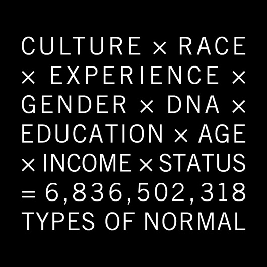 types of 'normal'
