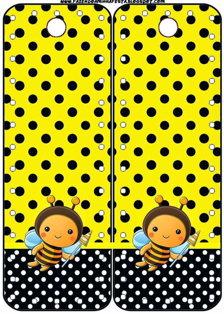 Para marcapáginas de Abejitas Bebé