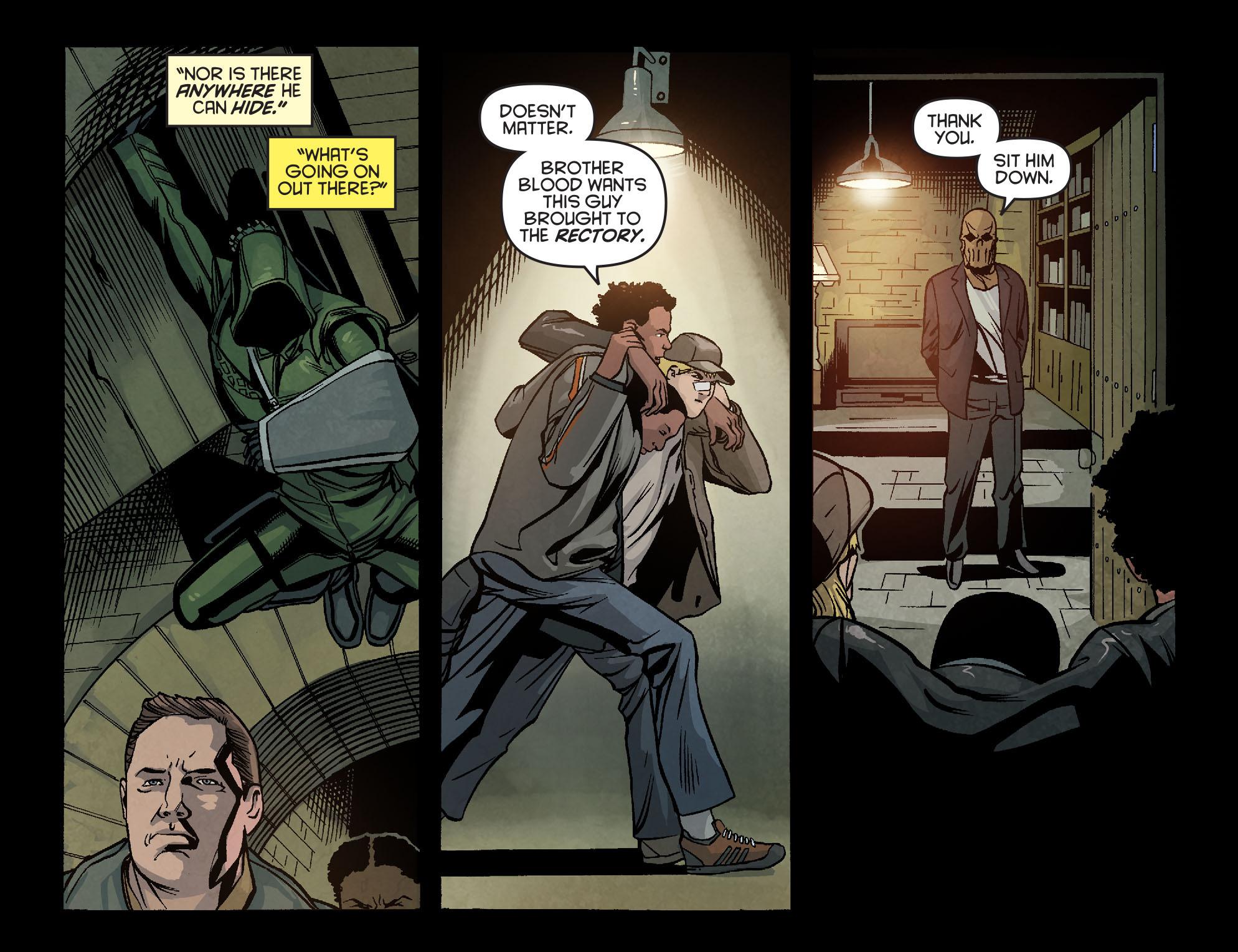 Read online Arrow: Season 2.5 [I] comic -  Issue #6 - 12