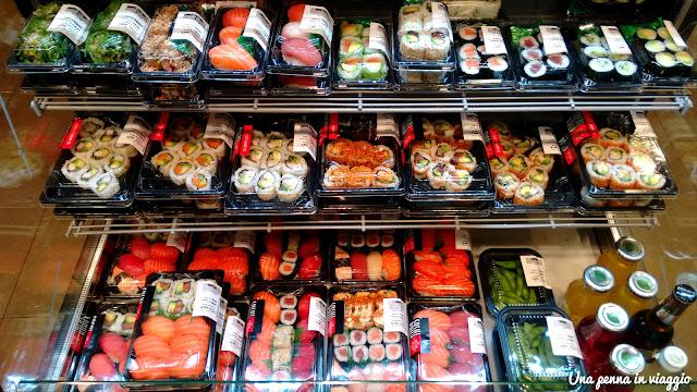 sushi supermercato Albert Heijn