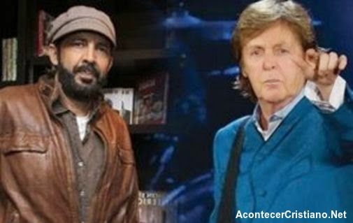 Juan Luis Guerra y Paul McCartney