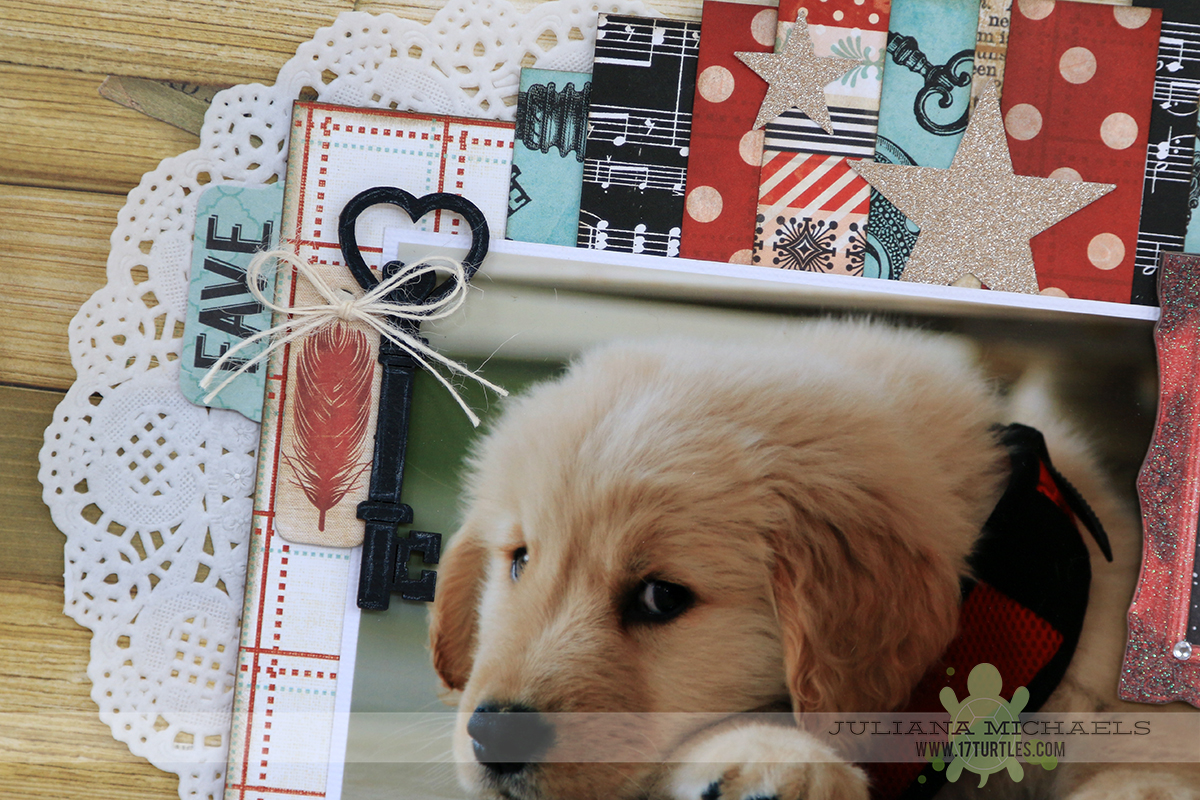 Sneak Peek Scrapbook Page by Juliana Michaels Scrapbook Generation Create January 2015