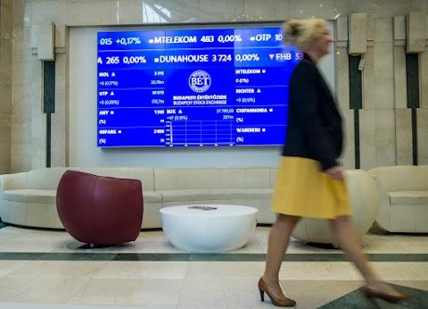 BÉT - Negatív nemzetközi hangulatban esett a magyar piac