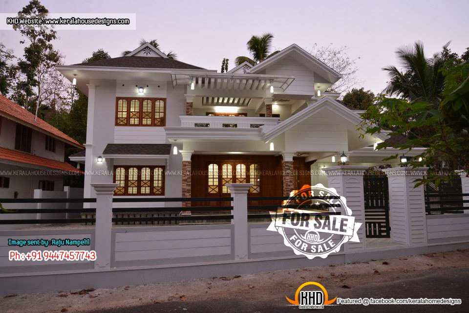 Fully furnished villa 13 5 cent land for sale kerala for House in 2 cent
