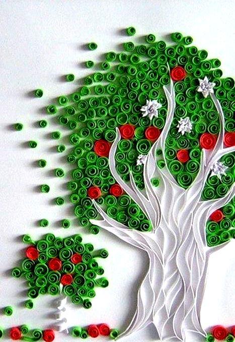Seni Kreatif Dari Gulungan Kertas  Paper Quilling