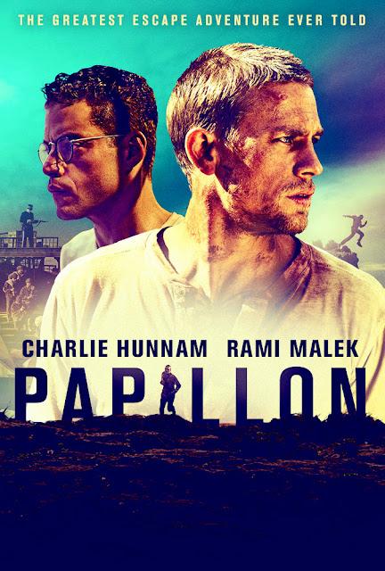 Sinopsis Film Papillon (2017) - Charlie Hunnam, Rami Malek