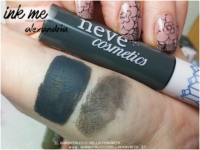 ALEXANDRIA SWATCHES INKME EYELINER NEVE COSMETICS REVIEW RECENSIONE