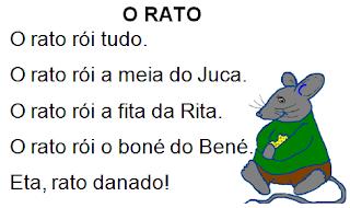 Texto O RATO, de Elisângela Terra