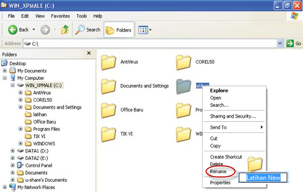 nama Folder