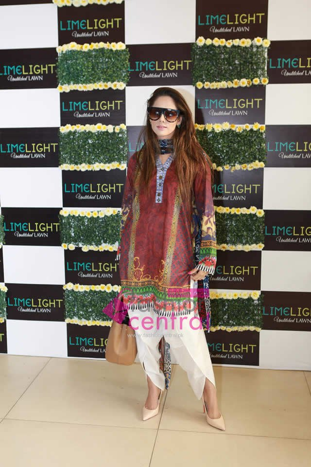 Launching of Limelight Lawn in Lahore