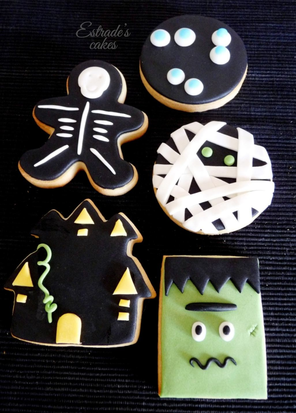 galletas de Halloween con fondant - 4