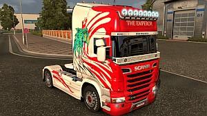 Scania R Emperor V2 skin