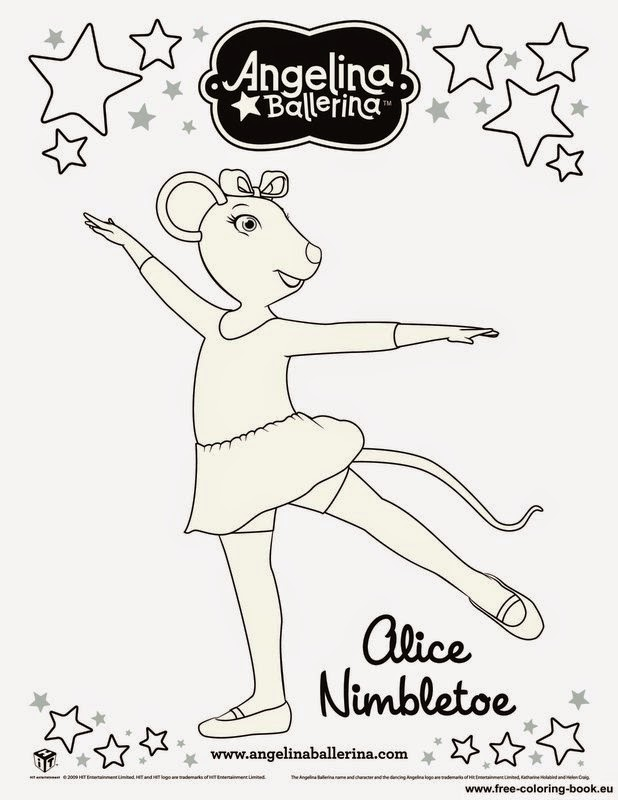 Cute Ballerina Coloring Pages Ideas | Warna, Ballerina, Gambar | 800x618