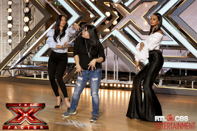 FILIPINA SINGER GAGA LORD IMPRESSES THE X FACTORY UK JUDGES
