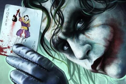 Fondo De Pantalla Animacion El Joker Carta