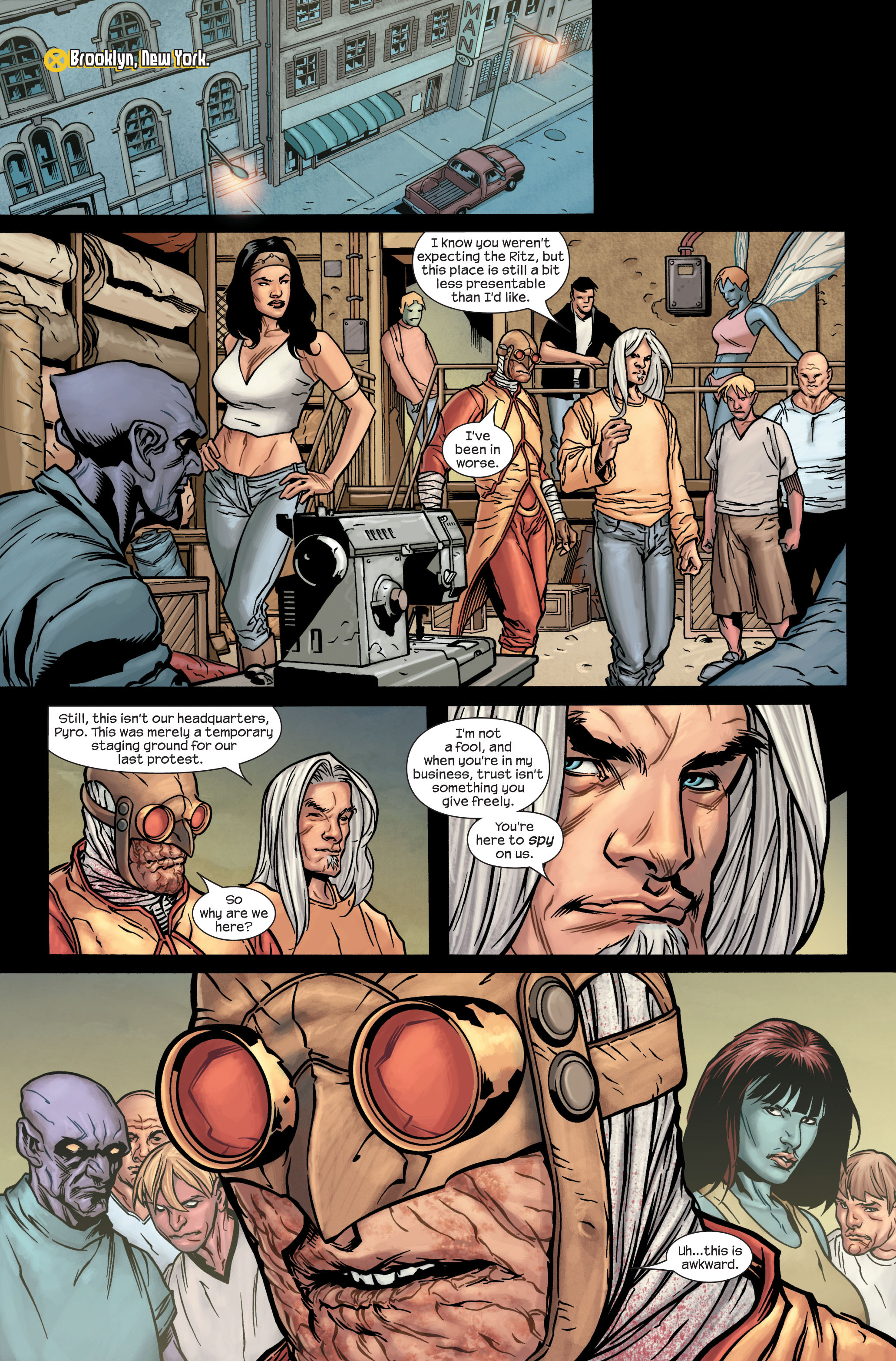Read online Ultimate X-Men comic -  Issue #86 - 5