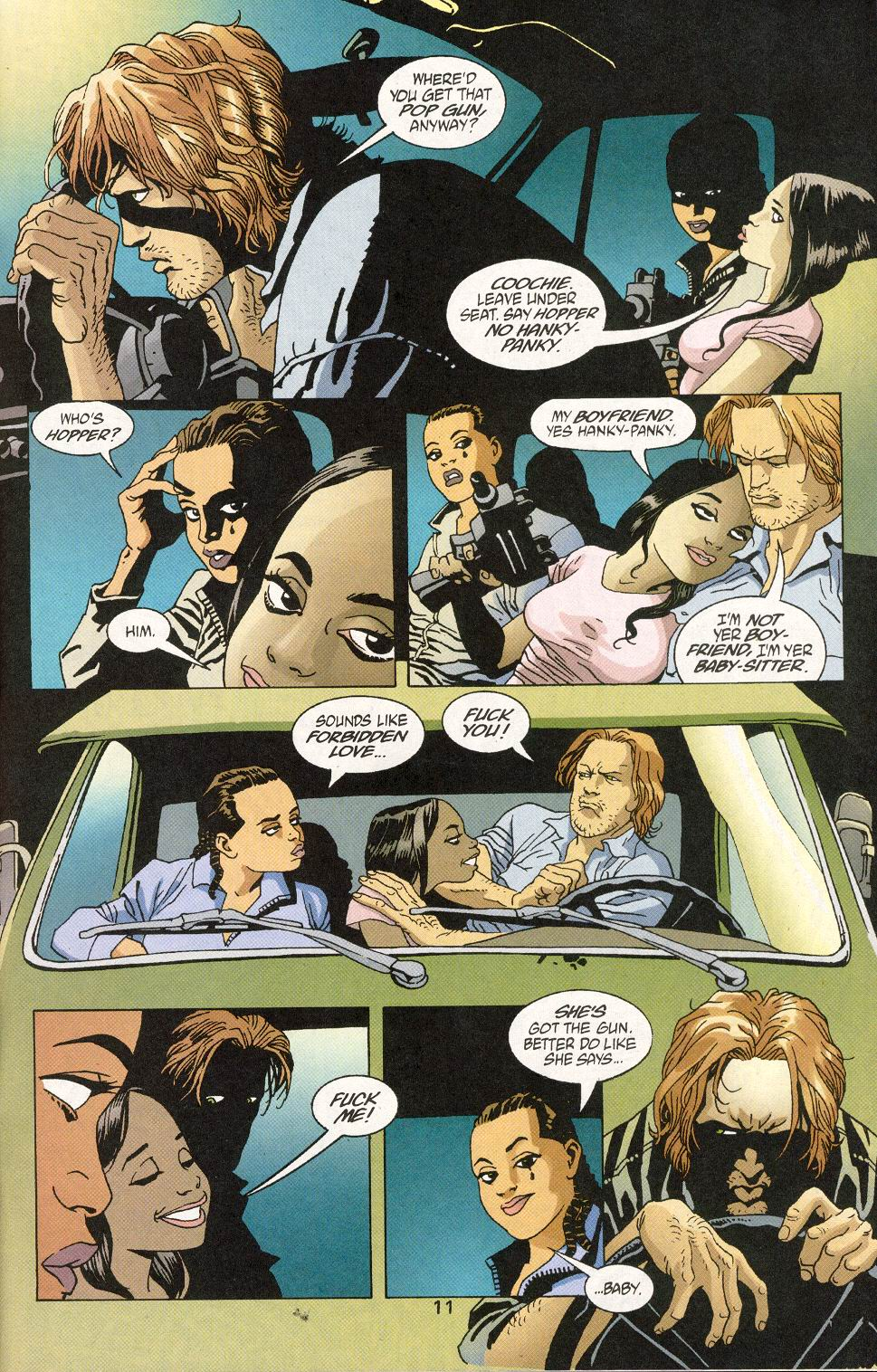 Read online 100 Bullets comic -  Issue #30 - 13