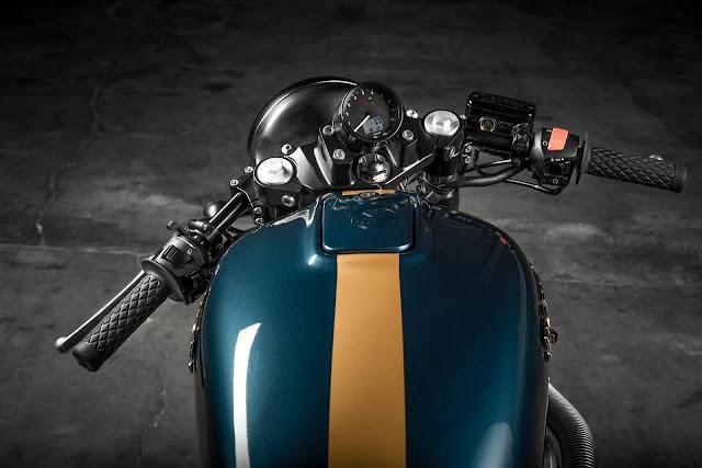 Honda Hornet 600 By Officina Ricci Hell Kustom