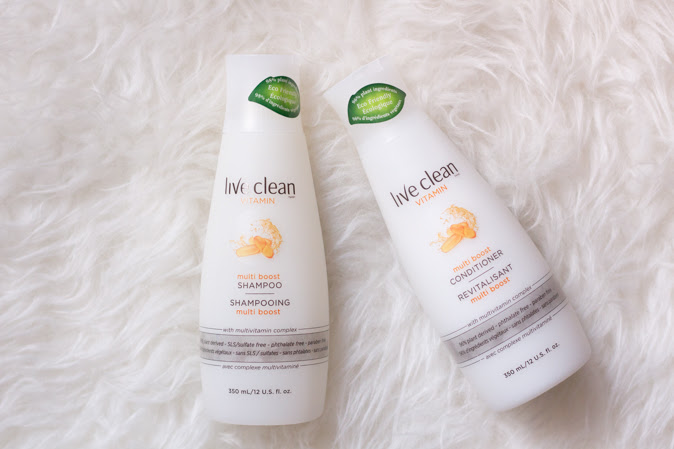 Live Clean Multi Boost Shampoo and conditioner review