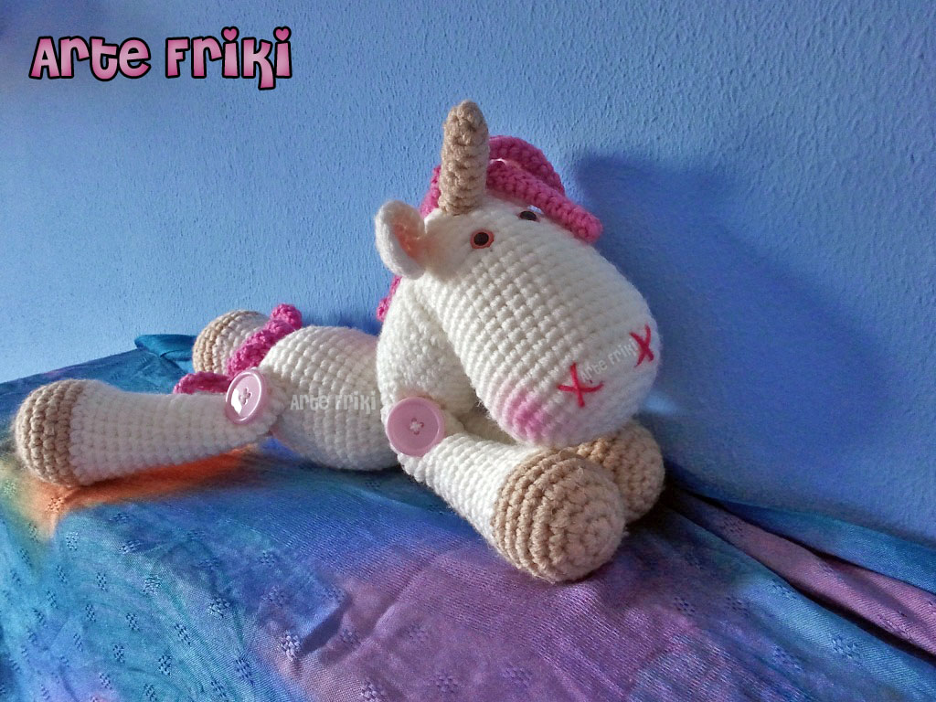 unicorn amigurumi unicornio ganchillo crochet