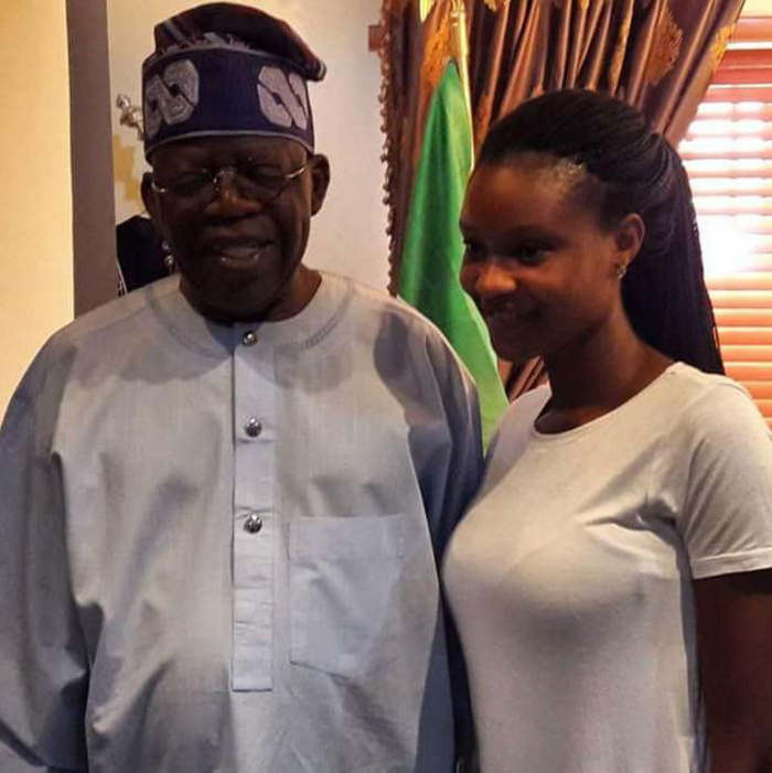 tinubu met moji olaiya daughter
