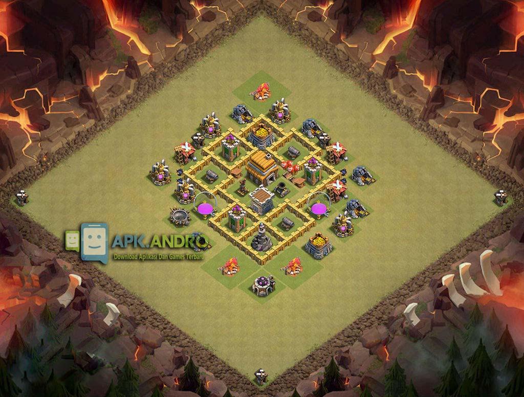 Base Coc Th 5 Terkuat Untuk War 10