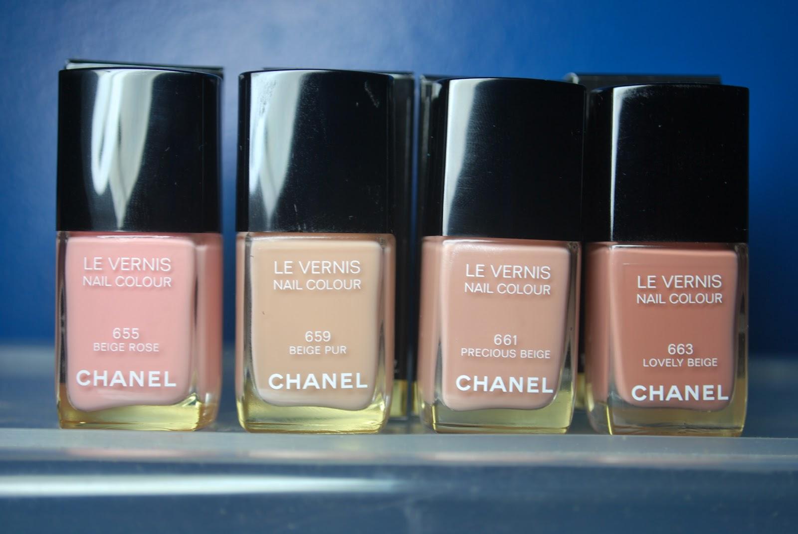 Precious Beige # Chanel 661 # Nagellack # Nägel #beige #