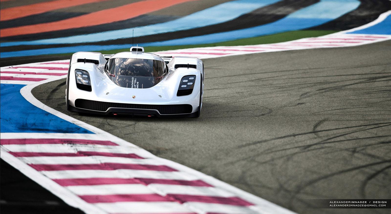 Porsche 906917 Concept Is One Designers Stunning Vision