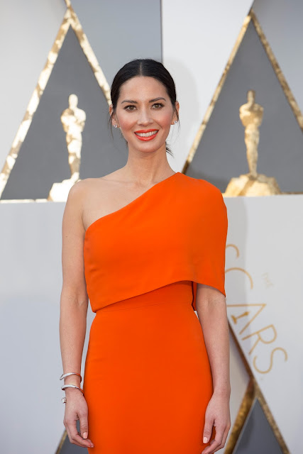 Olivia Munn Attends 88th Annual Academy Awards