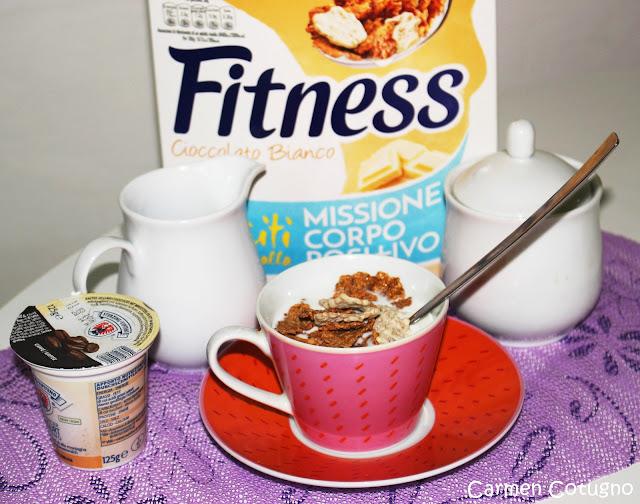 fitness di nestlé al cioccolato bianco